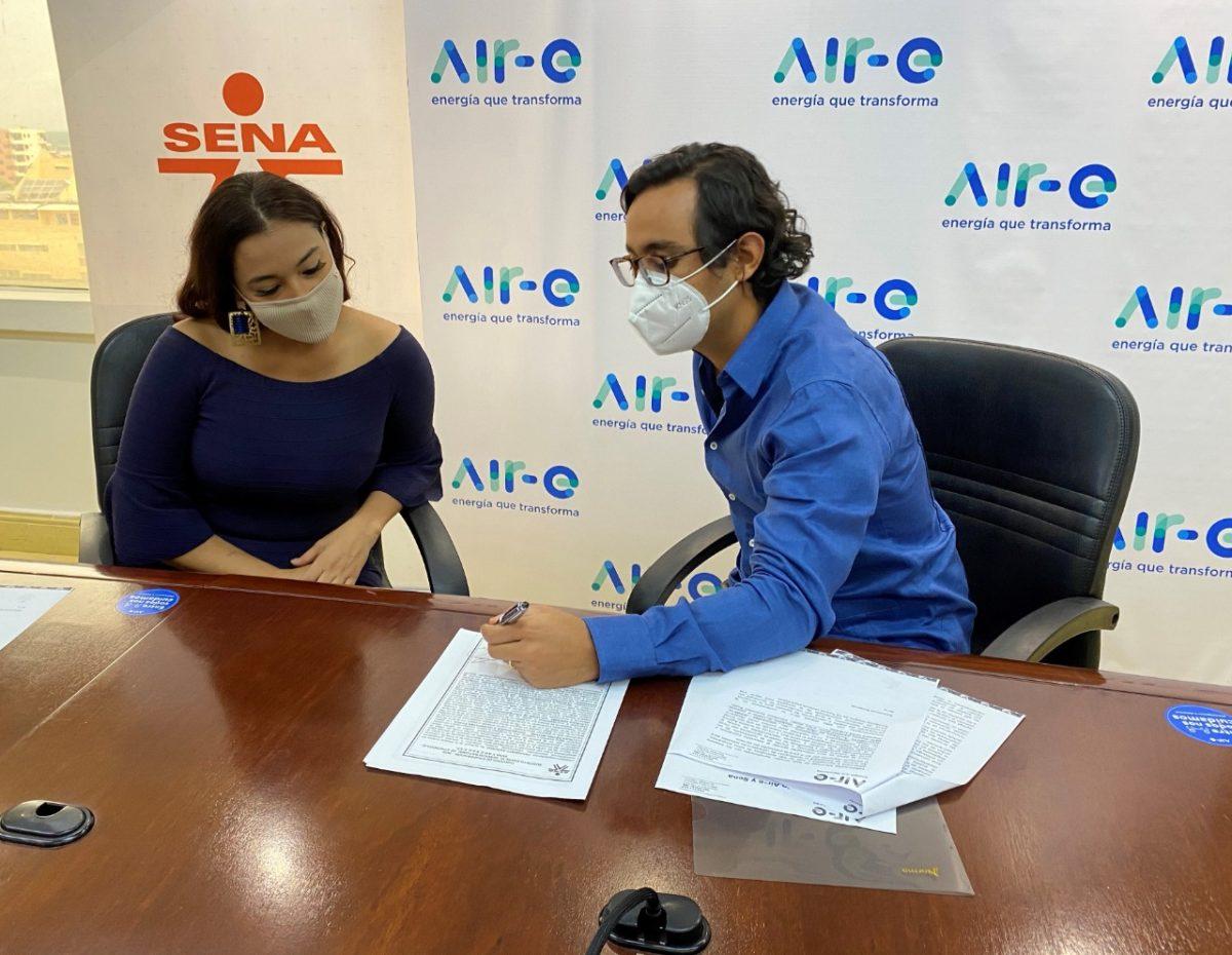 Gracias a la alianza entre Air-e y SENA cinco mil nuevos empleos en los próximos cinco años