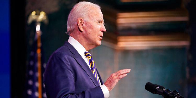 En la víspera de su investidura Joe Biden realizará homenaje a víctimas del COVID-19