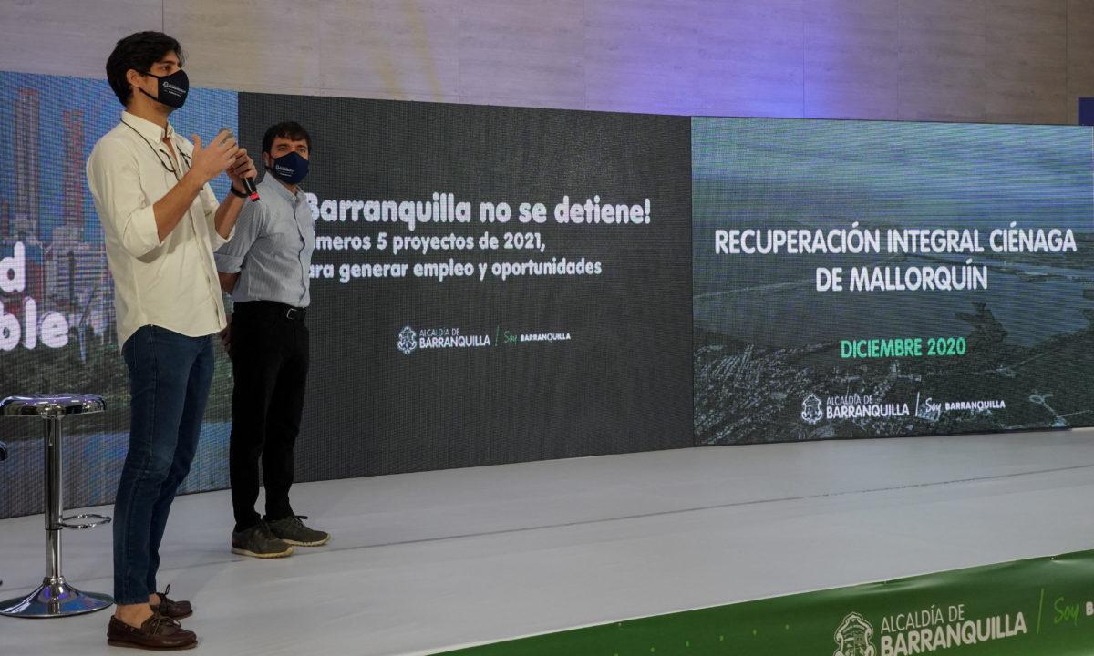 Barranquilla presenta los 5 primeros proyectos para generar empleo y calidad de vida en 2021