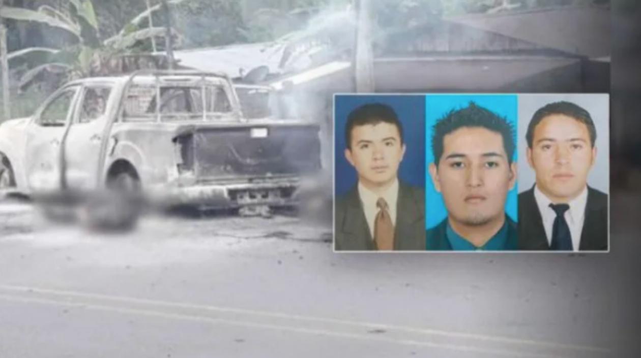 Menor de edad aceptó haber asesinado a tres investigadores del CTI en Nariño