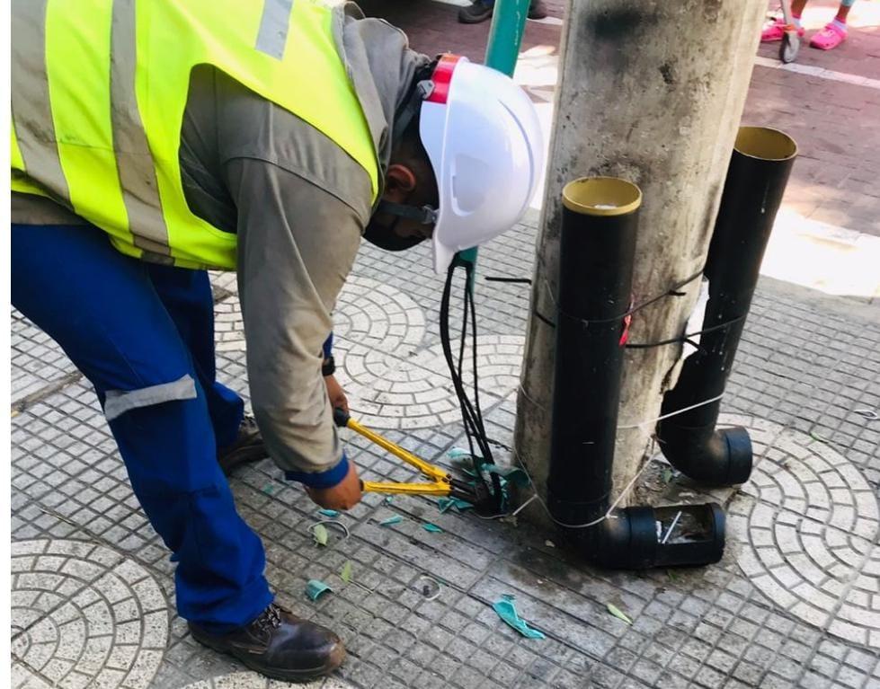 Detectan conexiones irregulares en el Centro de Barranquilla