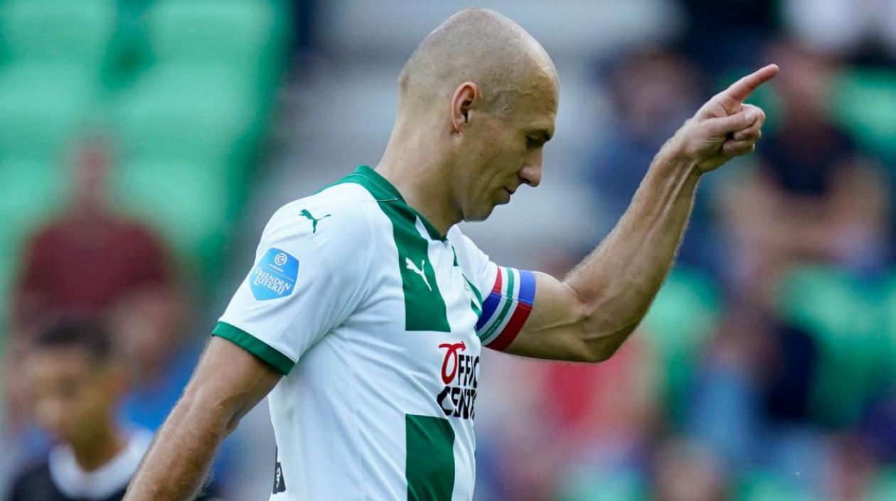 Arjen Robben se retira de forma definitiva del fútbol profesional