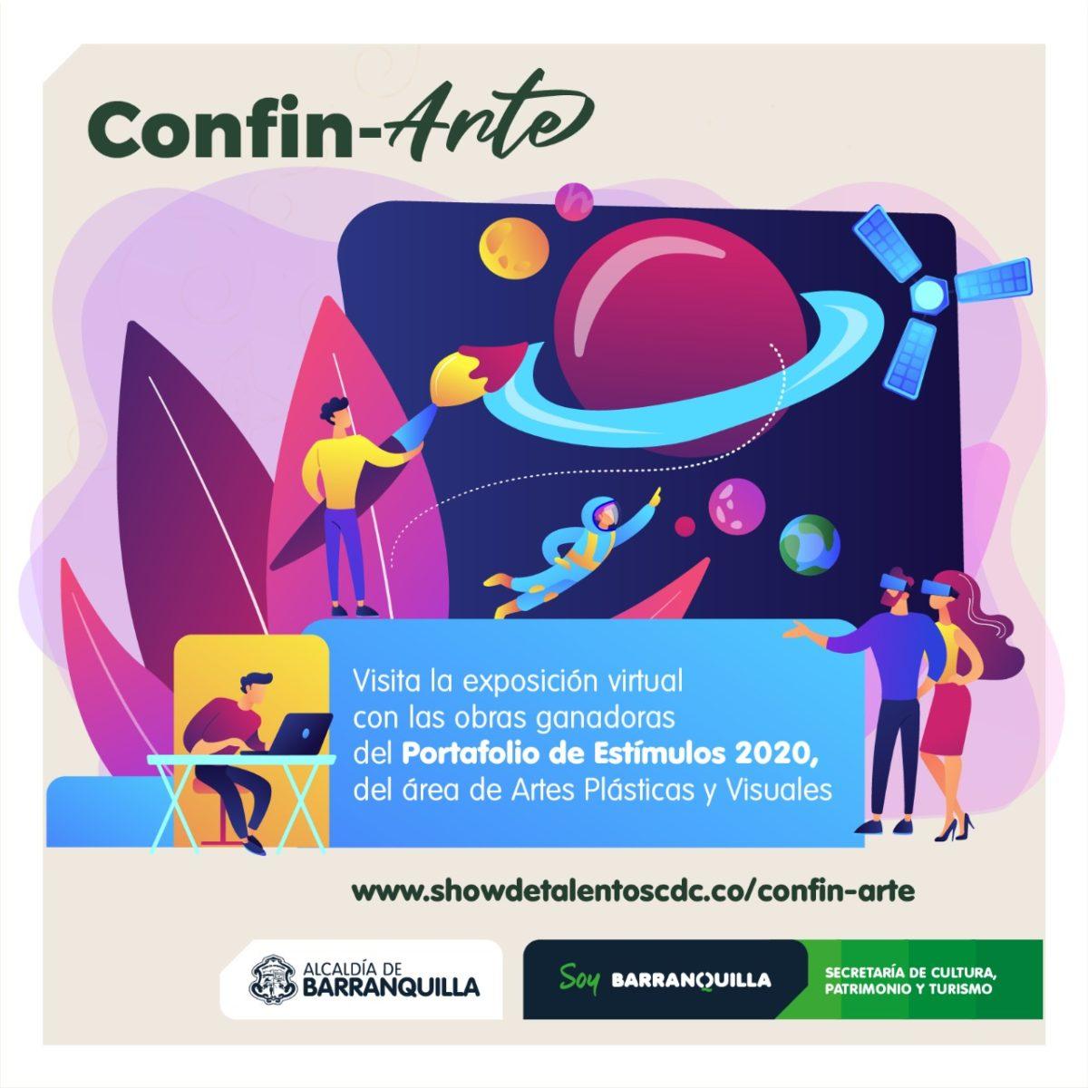 Secretaría de Cultura de Barranquilla da apertura a  Confin-Arte