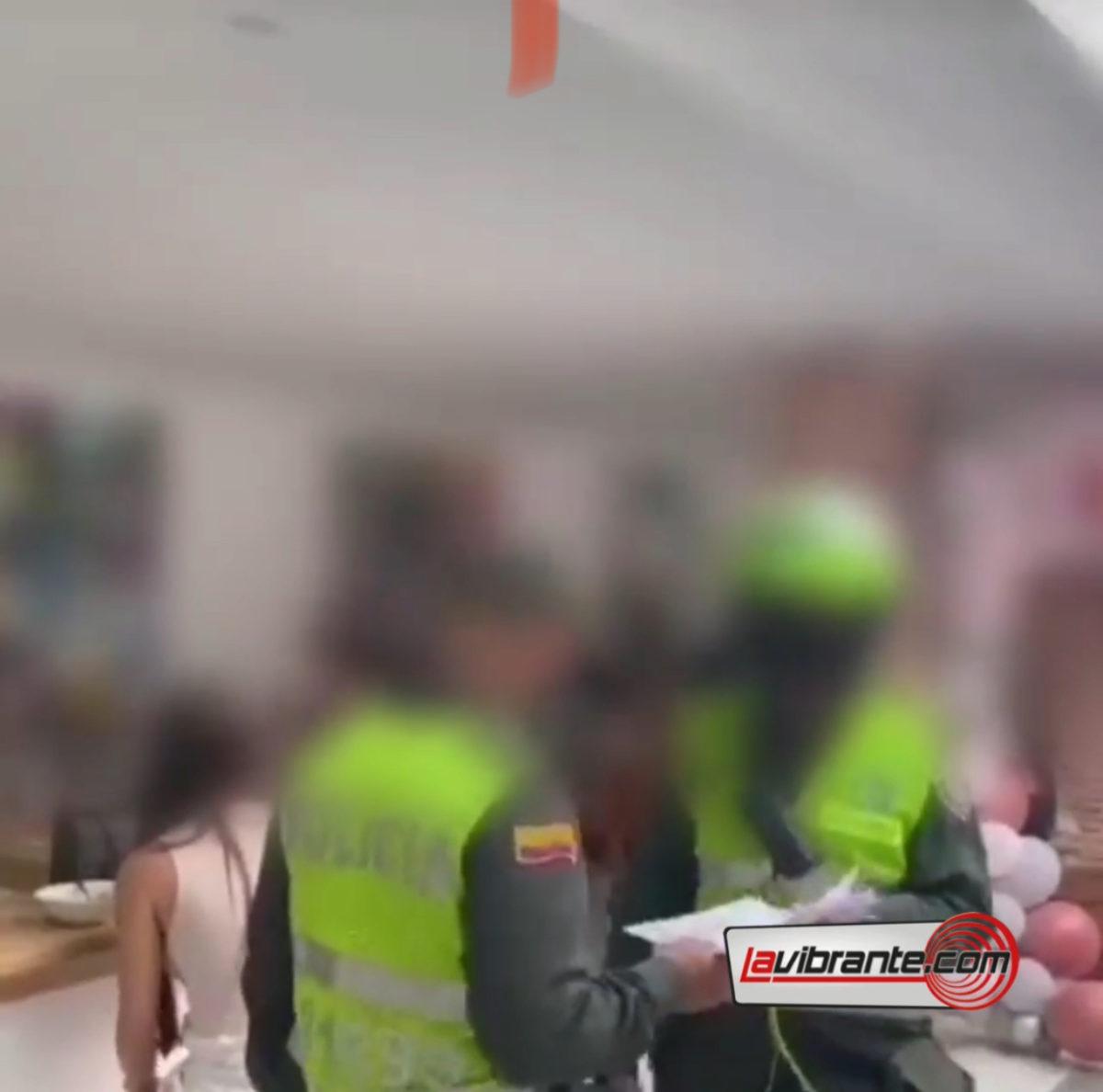 Fiesta en Cartagena fue descubierta por la policía en pleno centro histórico
