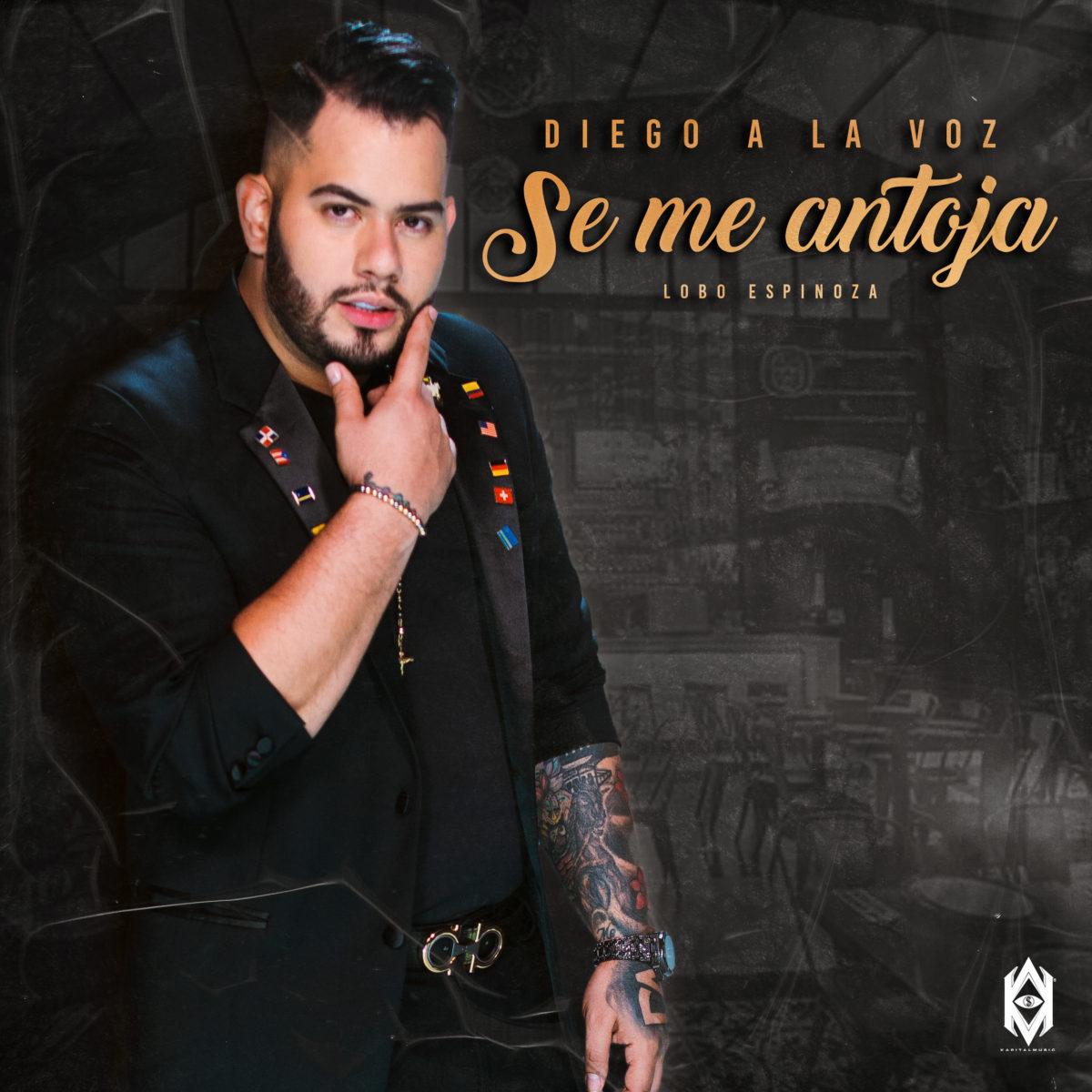 'Se me antoja' el nuevo sencillo de Diego a la voz, se convirtió en el favorito de la temporada