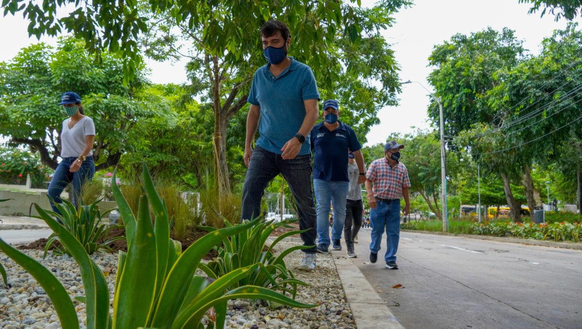 Barranquilla recuperará 25 kilómetros de andenes