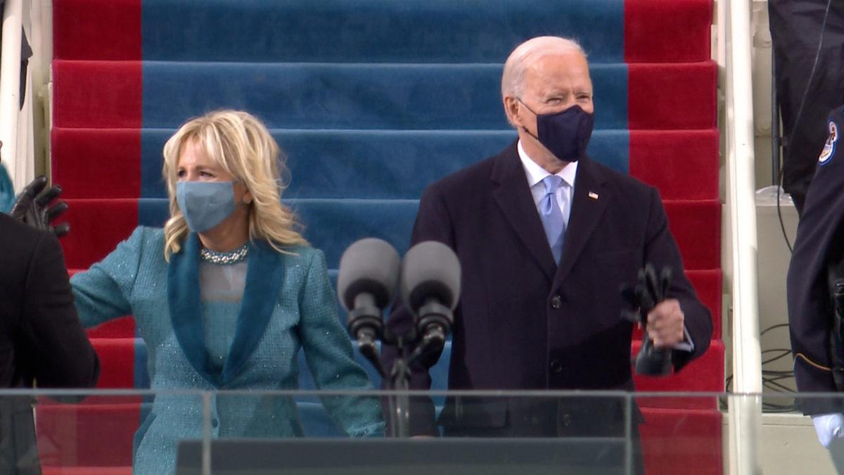 Biden da su primer discurso como el nuevo presidente de los Estados Unidos