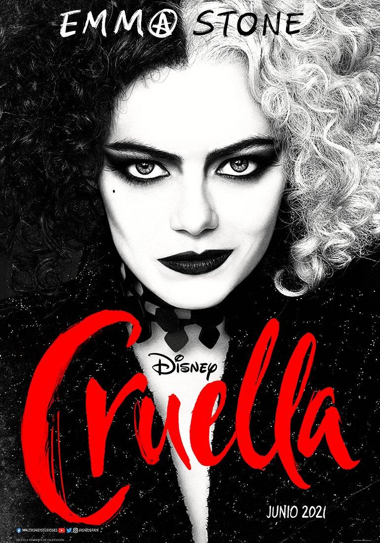 Disney publicó el primer tráiler de Cruella de Vil