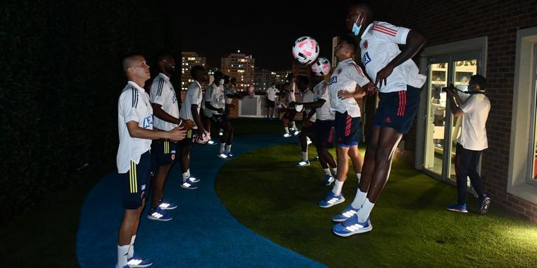 Inicio microciclo de la selección Colombia con 19 Jugadores