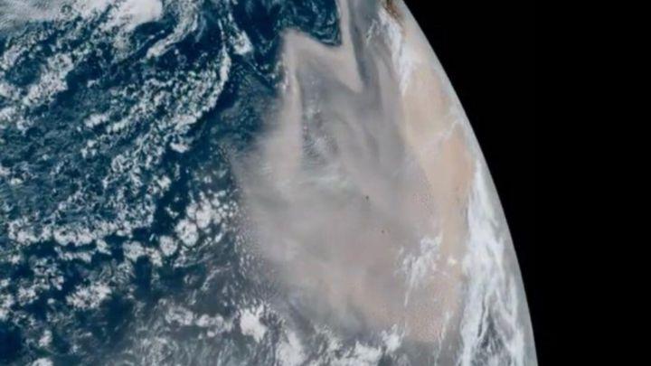 Polvo del Sahara llegará a Colombia