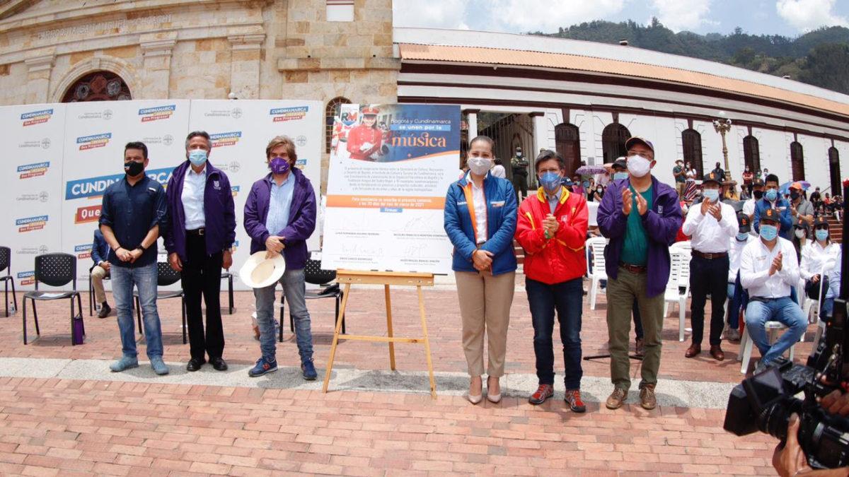 Bogotá y Cundinamarca firman primer convenio cultural de la Región Metropolitana – @Bogota @CulturaenBta @filarmonibogota