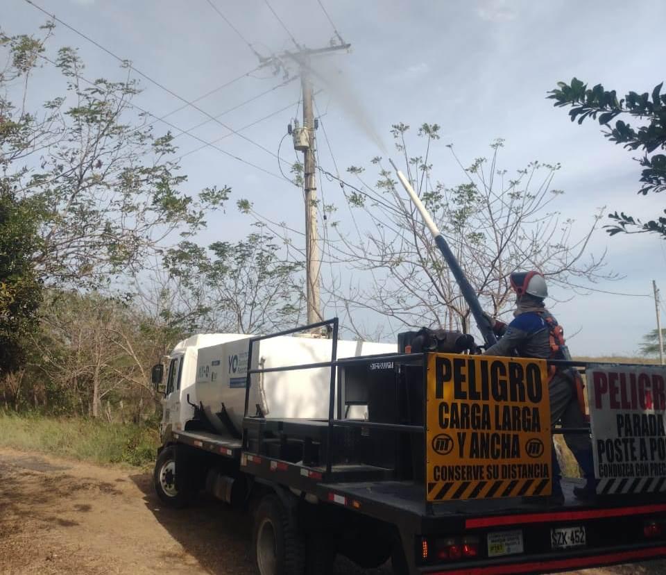 Trabajos de mantenimiento preventivo en Sabanagrande, Santo Tomás y Palmar de Varela – @Aire_Energia