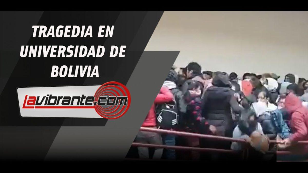 A siete se eleva el número de estudiantes muertos al caer de cuarto piso en universidad de Bolivia