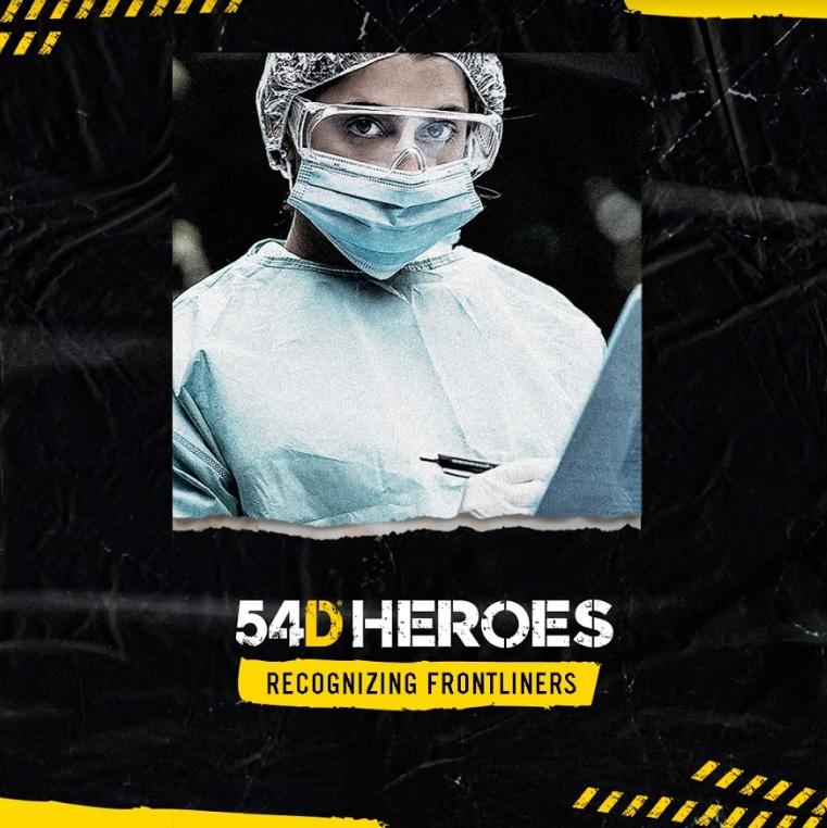 """""""54D"""" la marca que ha revolucionado la industria fitness y transformado miles de vidas alrededor del mundo, lanza campaña social: #54DHéroes"""