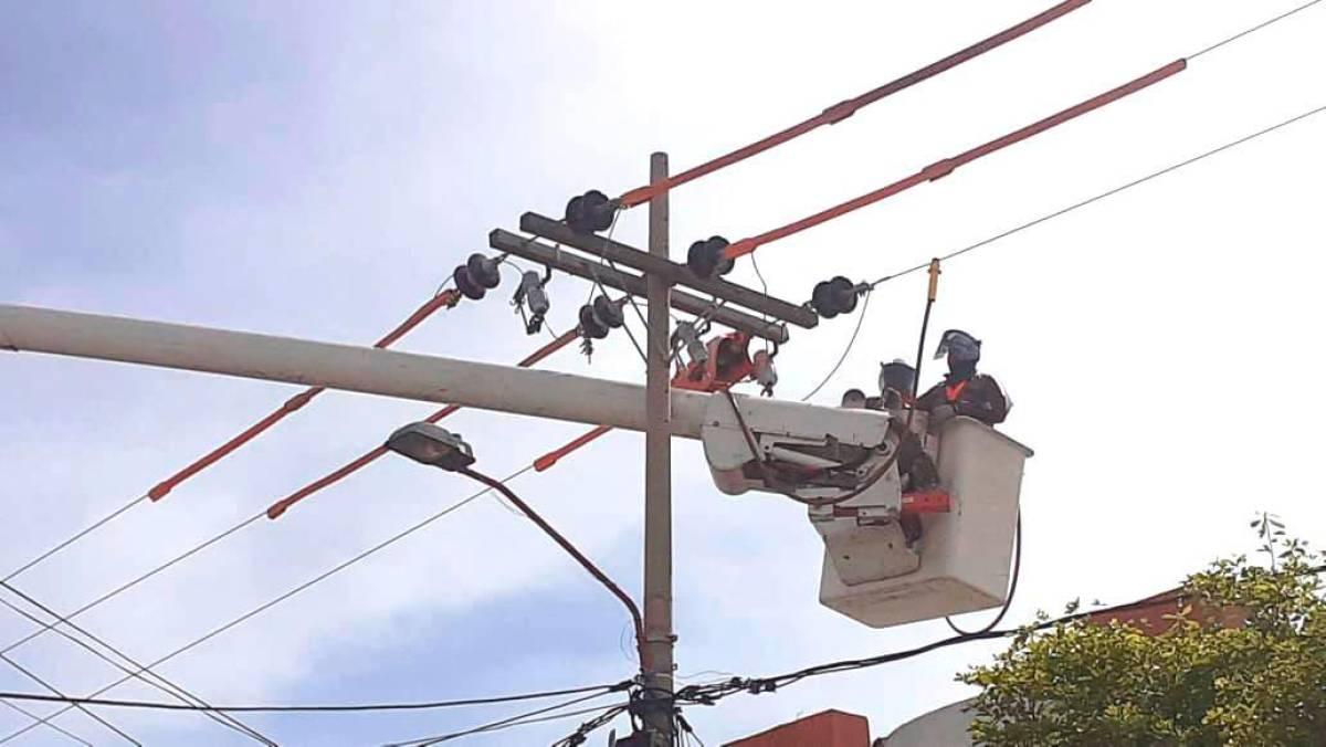 Este lunes 26 de julio Adecuación de redes en Piojó – @Aire_Energia