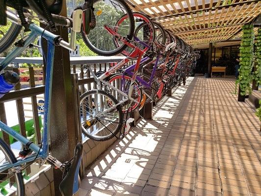Banco de Bogotá promueve ciudades más sostenibles con la construcción de cicloparqueaderos