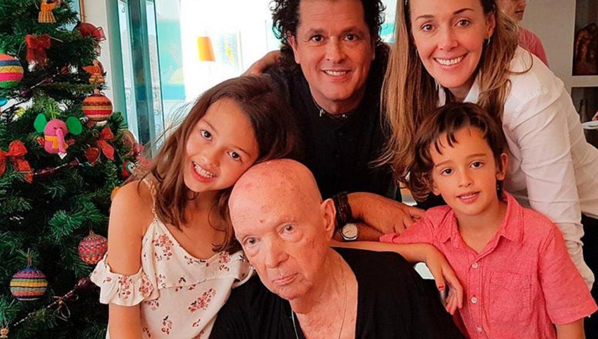 Falleció el padre de Carlos Vives