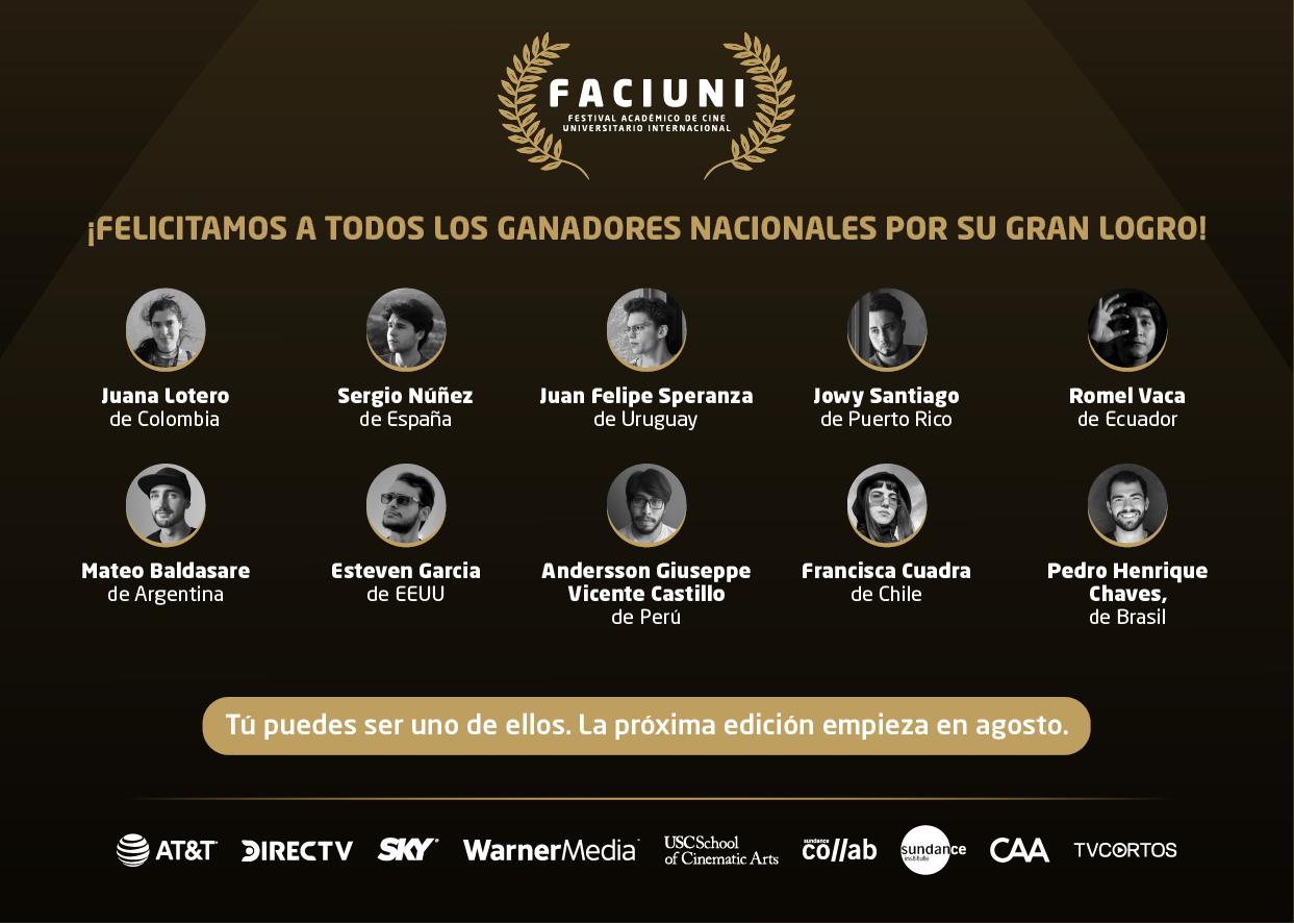 El Festival Académico de Cine Universitario Internacional FACIUNI celebra a jóvenes cineastas.