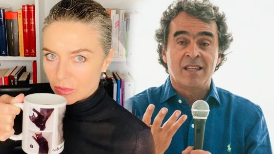 Margarita Rosa de Francisco: «Es la cosa más fácil ganarle un debate a Fajardo»
