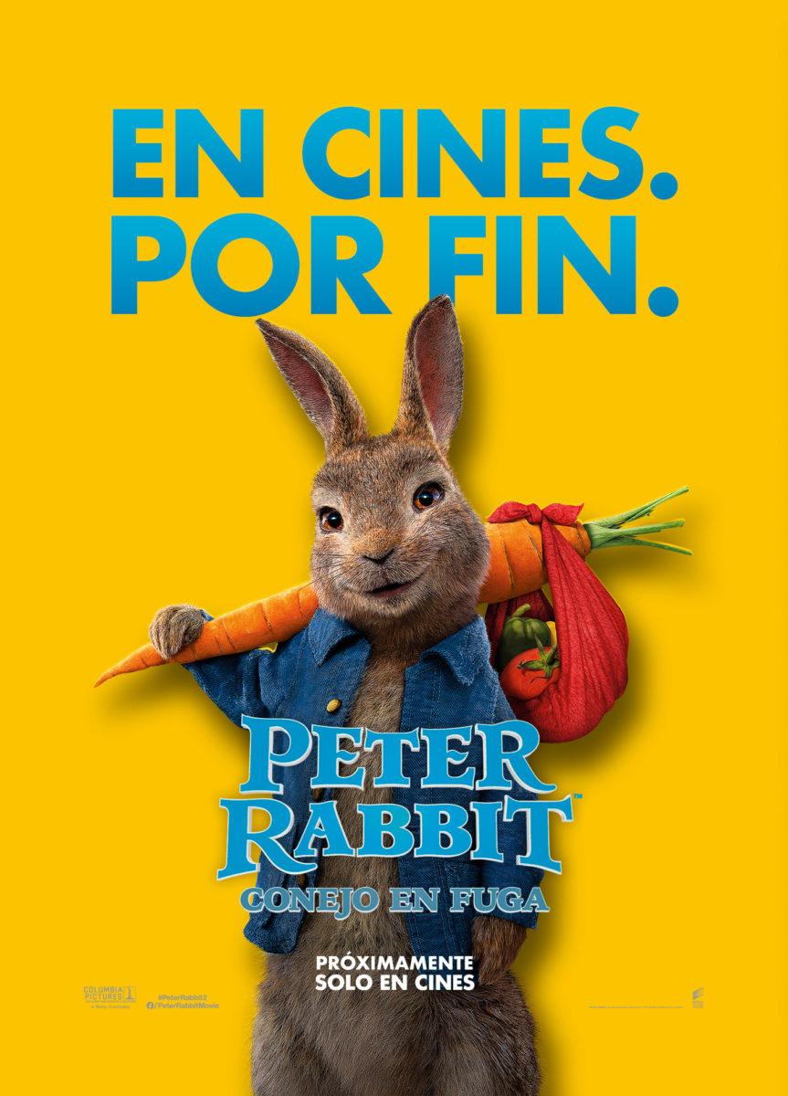"""""""Peter Rabbit Conejo en Fuga"""" estrena nuevo tráiler"""