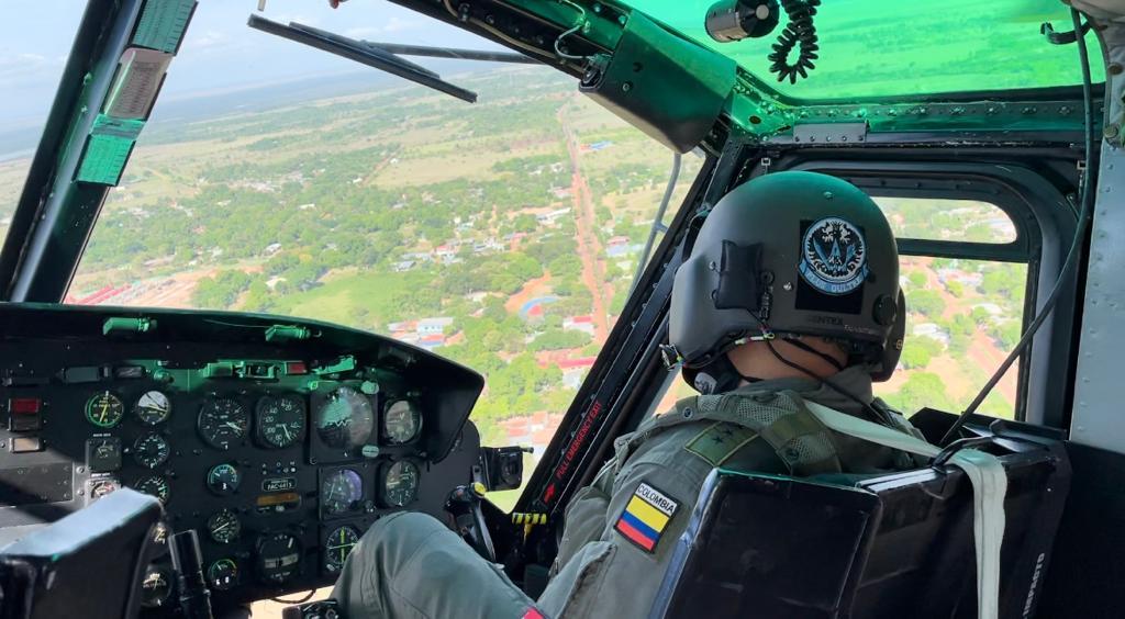Viaje Seguro con su Fuerza Aérea en el oriente colombiano