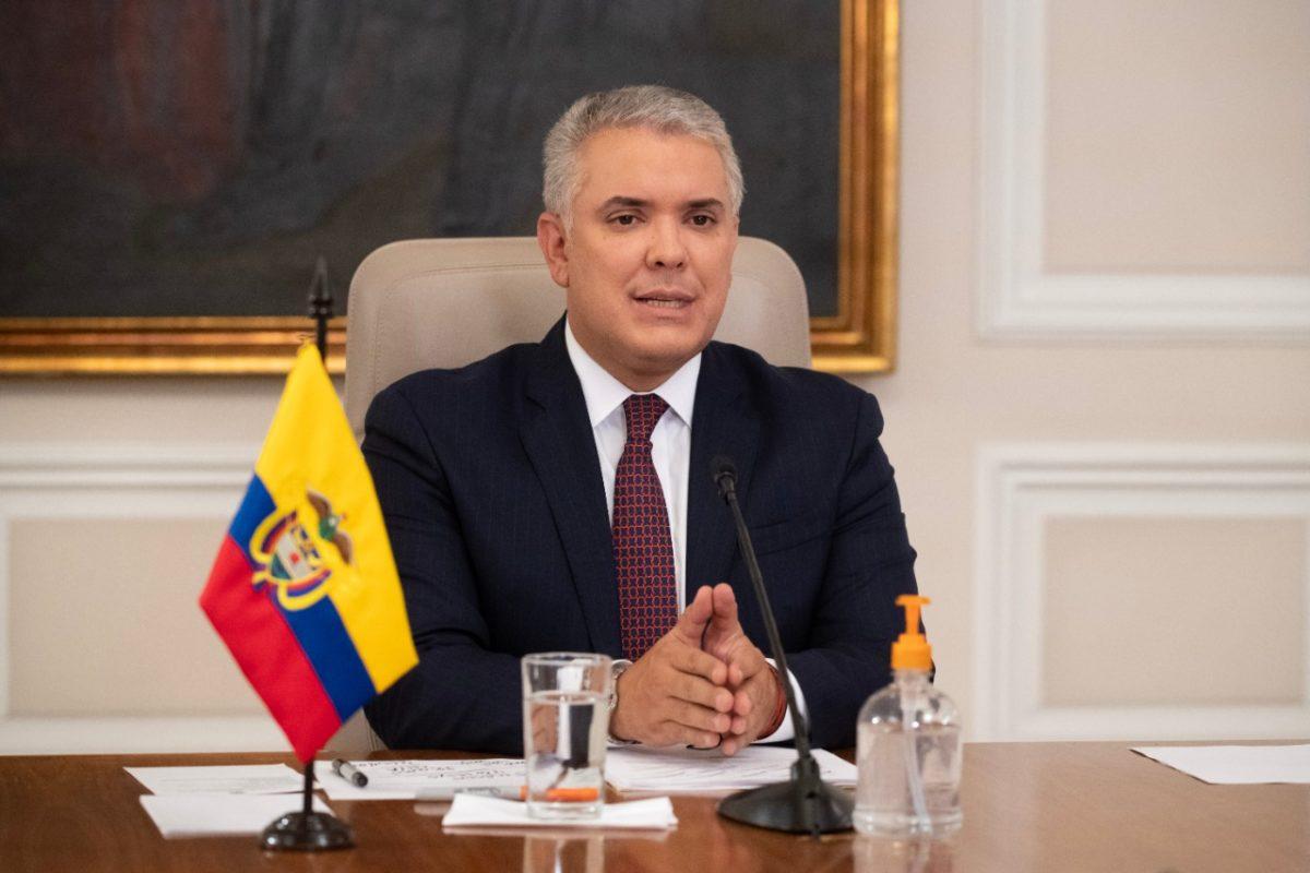 Presidente Iván Duque pidió a Estados Unidos que declare a Venezuela como promotor del terrorismo