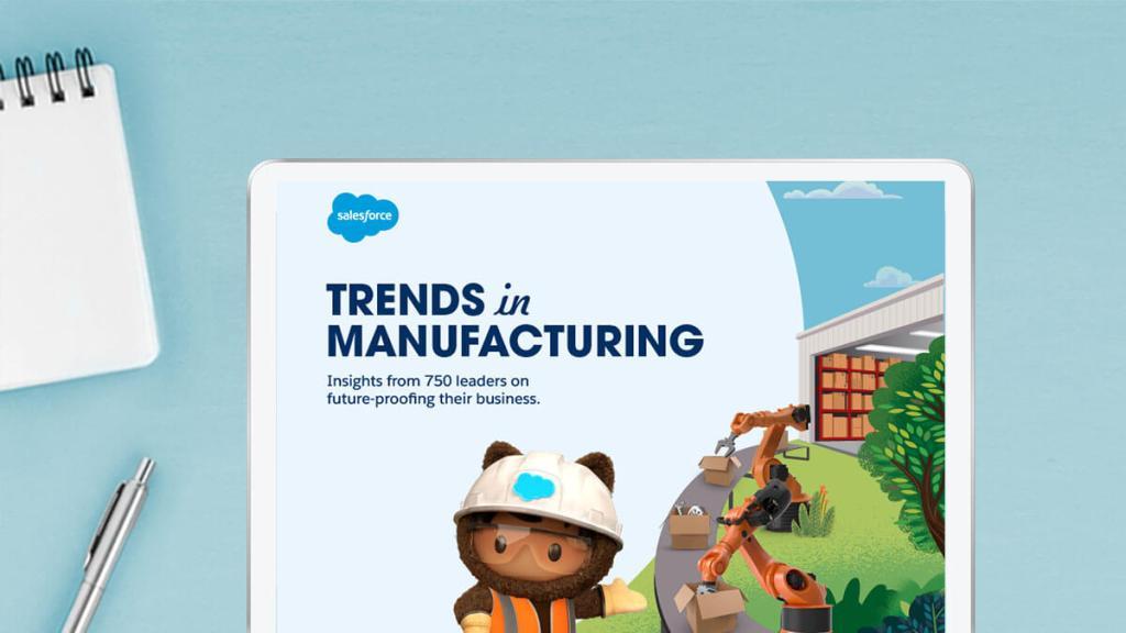 Una nueva investigación de Salesforce revela que la pandemia ha avanzado en los planes de adopción de la nube para el 81% de los fabricantes