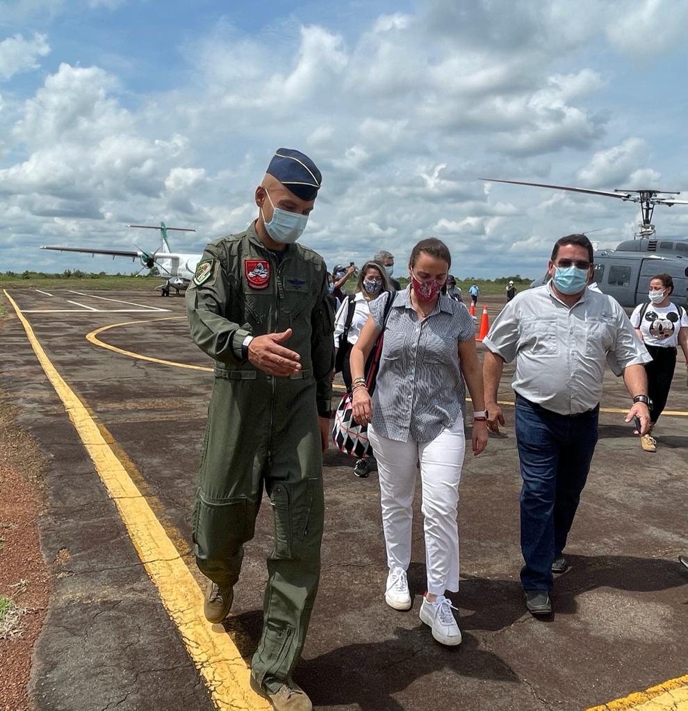 Su Fuerza Aérea comprometida con la conectividad en el departamento del Vichada – @FuerzaAereaCol
