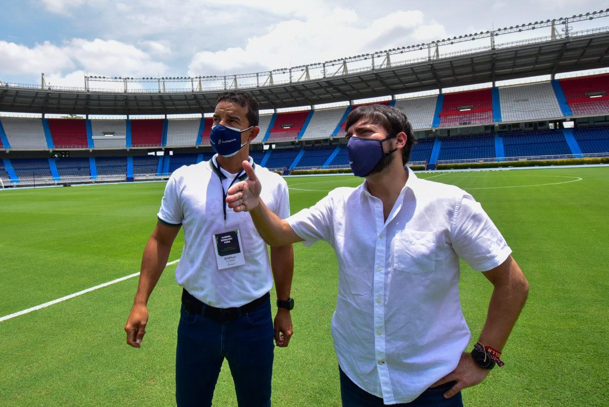 """@JaimePumarejo: """"Estaremos listos para que, cuando ruede el balón, Barranquilla ponga la mejor cara"""""""