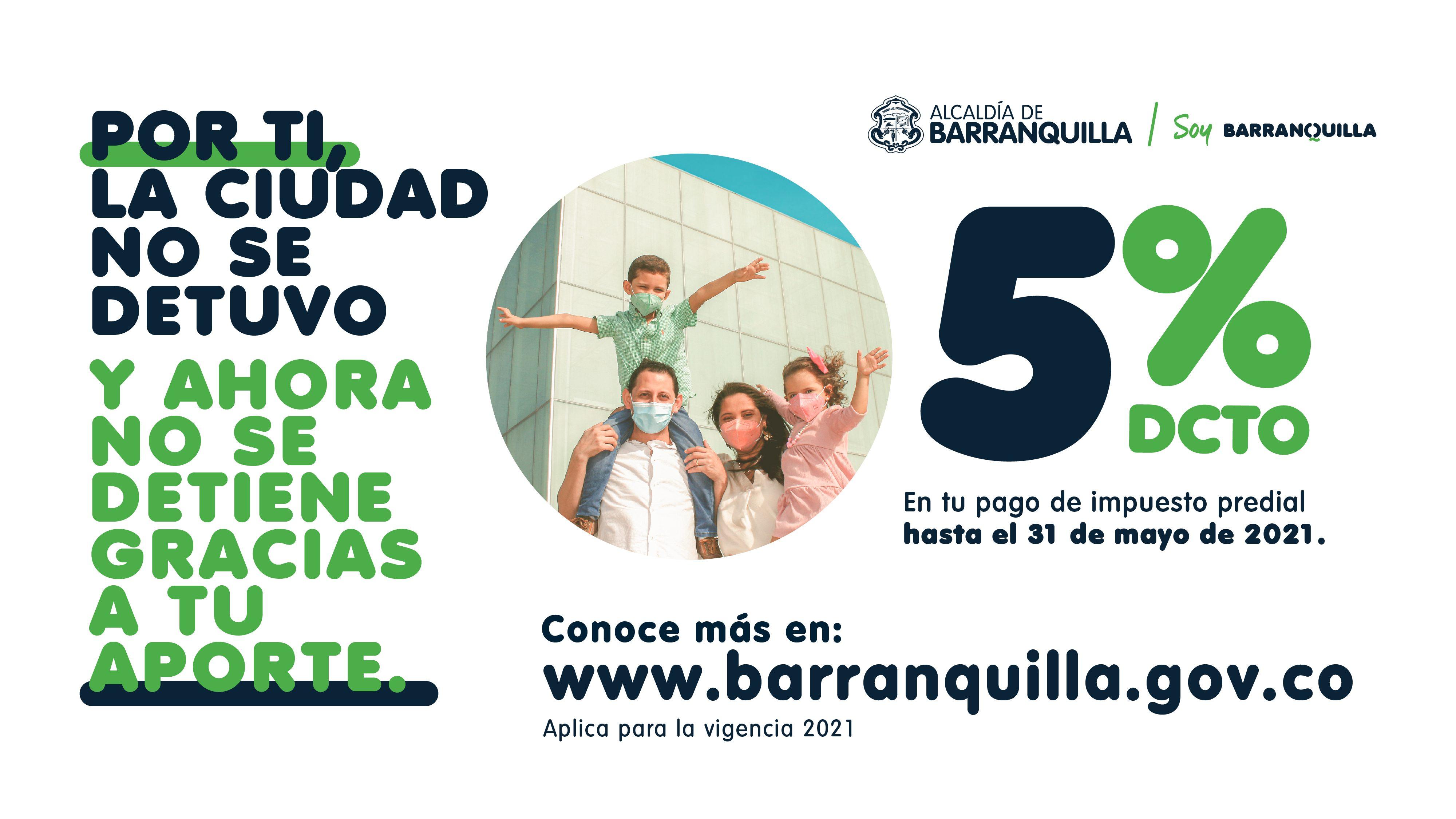 Últimos días para aprovechar 5% de descuento en el impuesto predial – @alcaldiabquilla