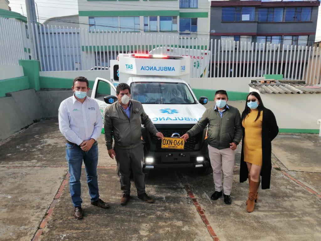 Gobierno de Boyacá entrega ambulancia al Centro de Salud de Firavitoba – @GobBoyaca