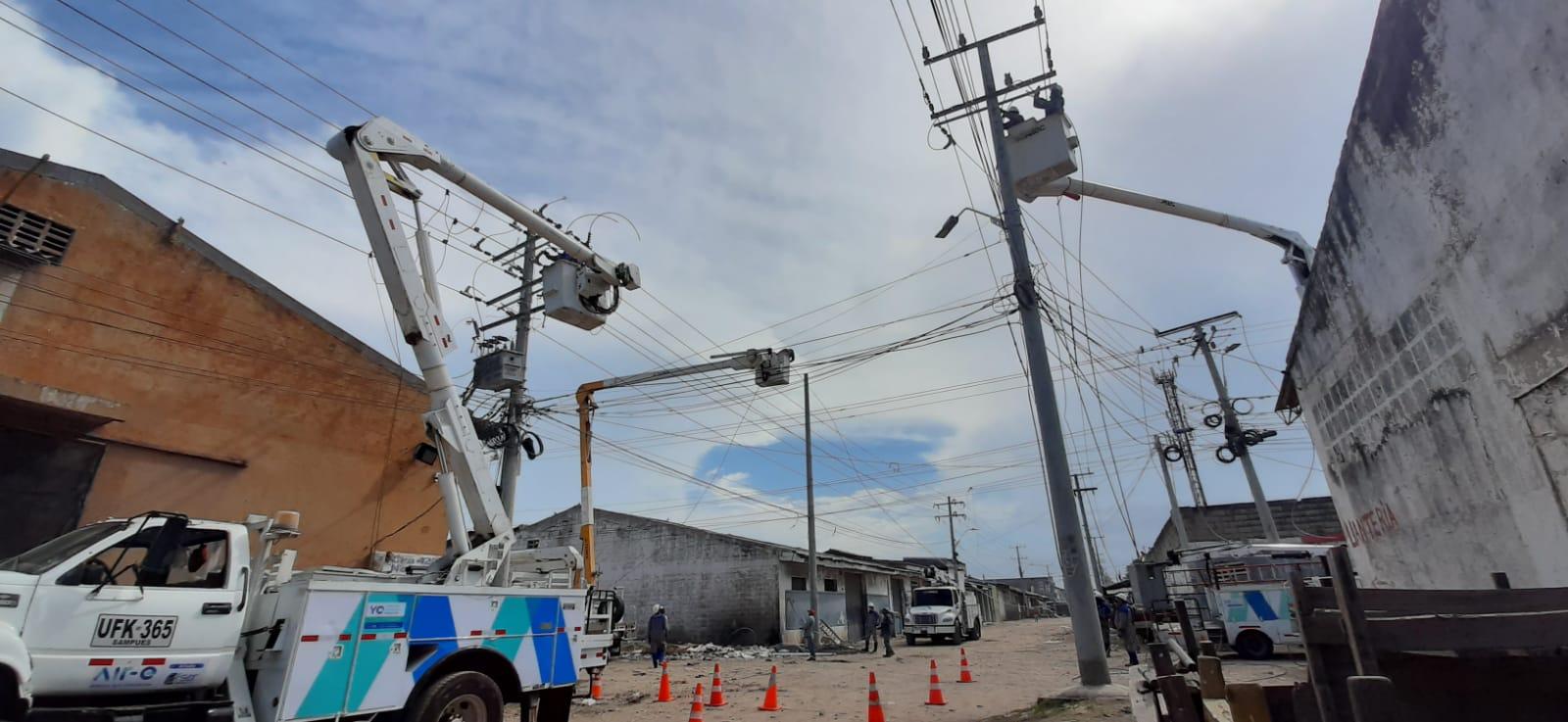 Cortes de luz por mantenimiento de redes en los barrios Tres Ave Marías y Paraíso – @Aire_Energia