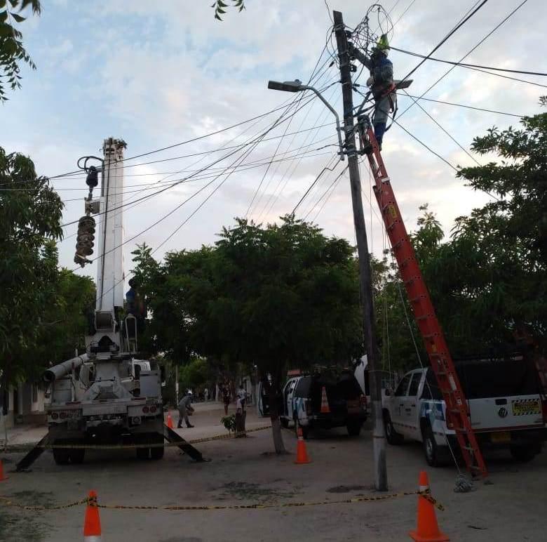 Este martes 22 de junio cambios de redes en los barrios San José y El Bosque – @Aire_Energia