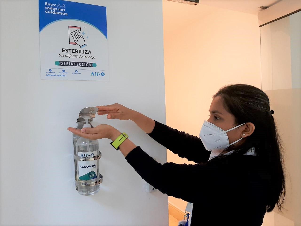Air-e incrementa medidas de bioseguridad en personal operativo y administrativo – @Aire_Energia