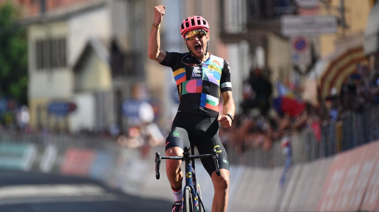 Alberto Bettiol ganó sin ningún inconveniente la etapa 18 del Giro de Italia 2021