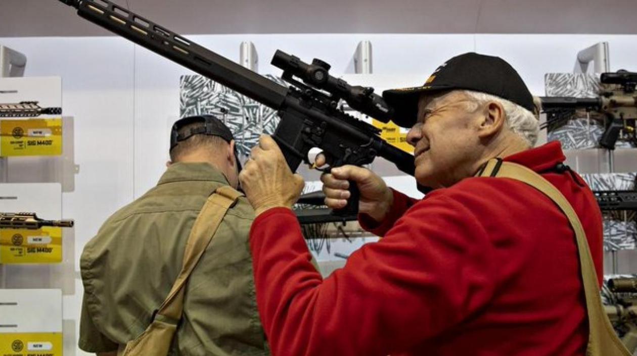 La venta de armas sigue disparada en Estados Unidos