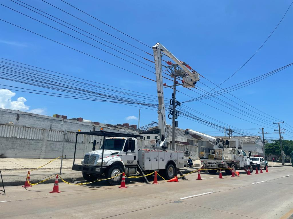 Adecuación de redes en los municipios de Soledad, Juan de Acosta y Puerto Colombia, este sábado 12 de junio – @Aire_Energia