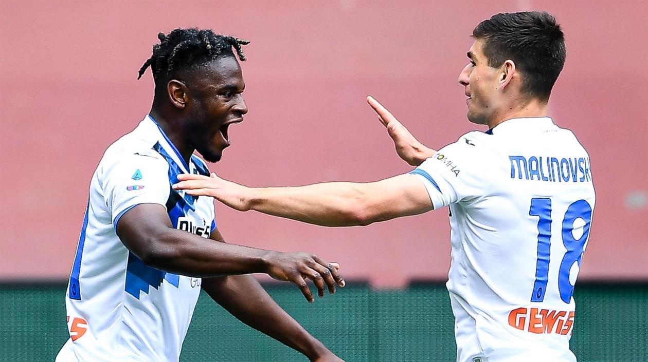 Atalanta a un paso de ser subcampeón en Italia con gol y asistencia de Duvan Zapata