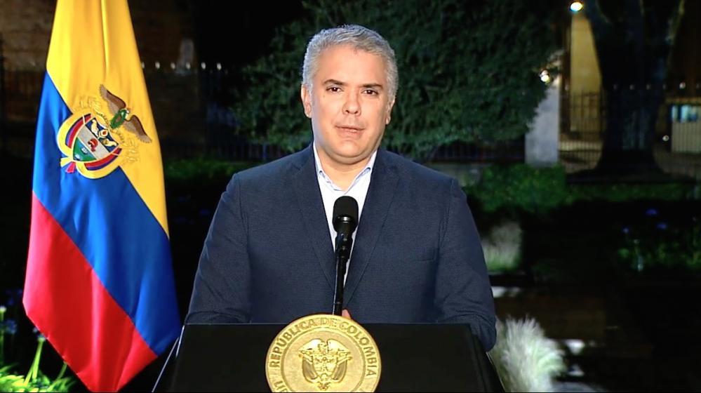 Presidente Duque negó reunión con «reclutador» de colombianos en Haití