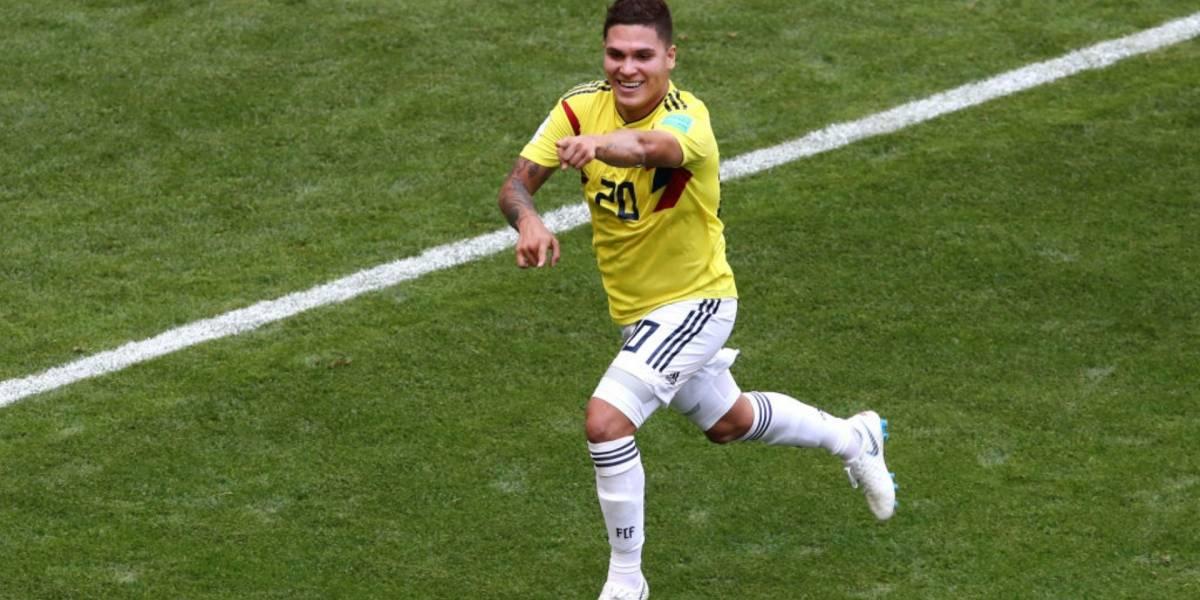 Juan Fernando Quintero, desconvocado para juegos ante Perú y Argentina