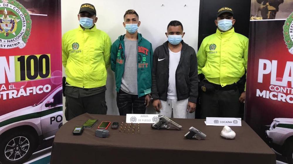 Detienen a 2 presuntos integrantes de 'Los Papalópez', por homicidios y venta de drogas en Barranquilla
