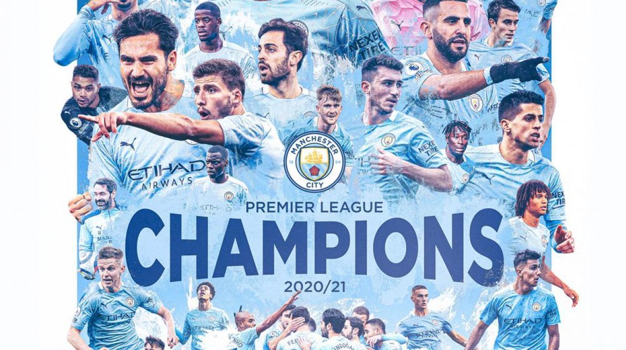 Manchester City campeón de la Premier League de forma anticipada tras derrota del United