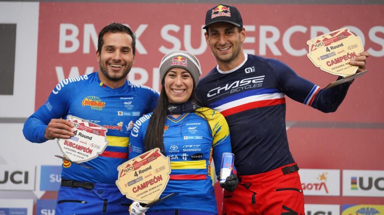 Mariana Pajón ganó la cuarta válida de la Copa Mundo de BMX