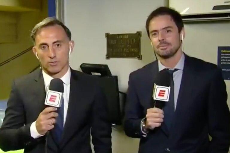 Periodistas argentinos le contaron al mundo lo que pasa en Colombia durante partido Junior vs River