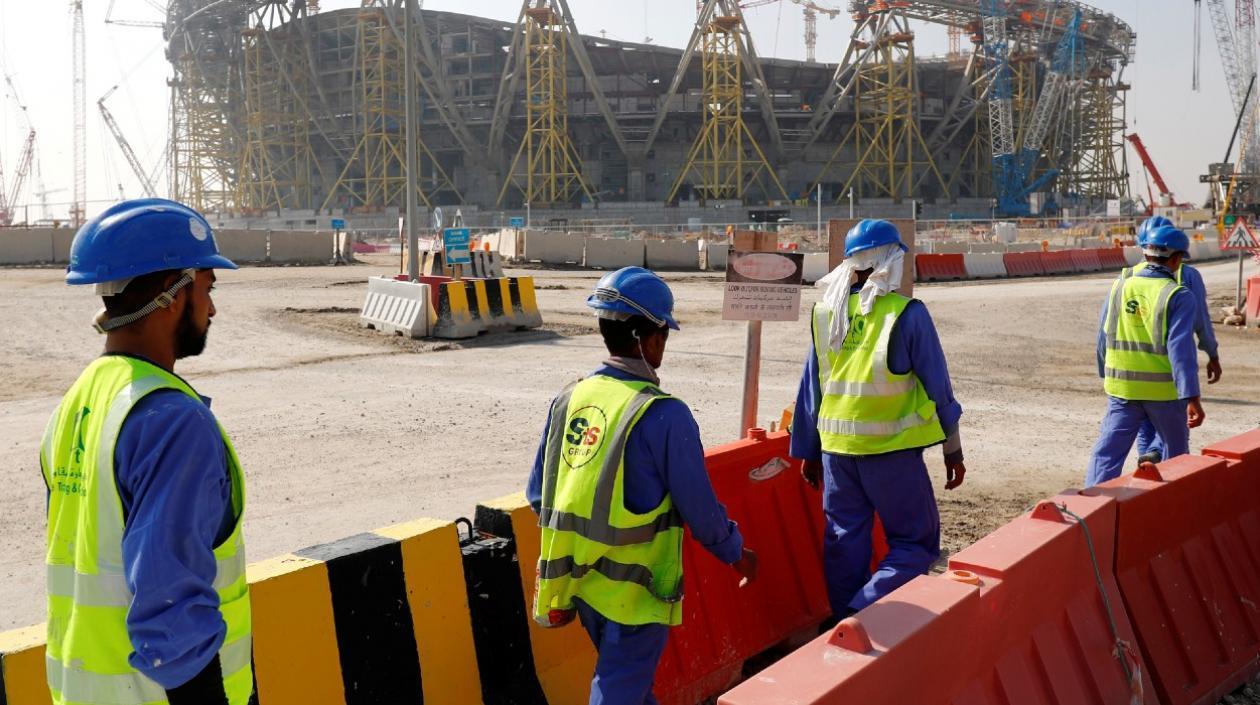 """FIFA: """"Obras de Qatar 2022 tienen los más altos estándares de seguridad"""""""