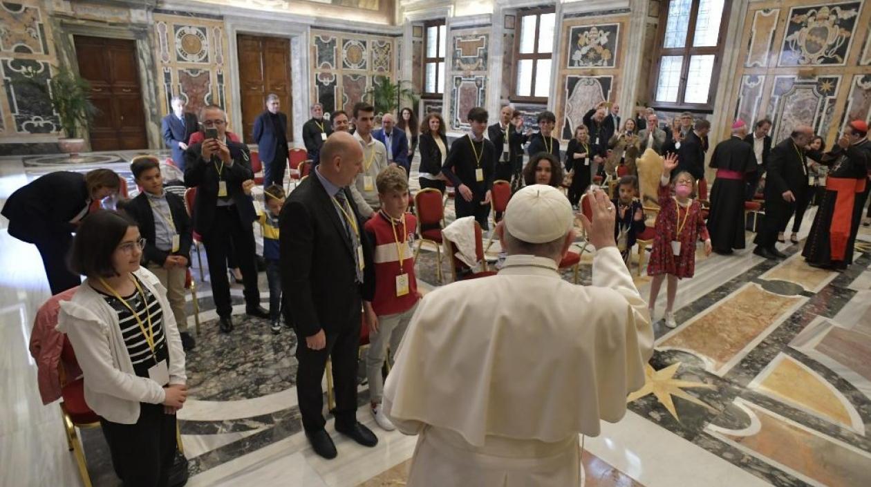 Papa Francisco: Abuso a menores es «una especie de asesinato psicológico»