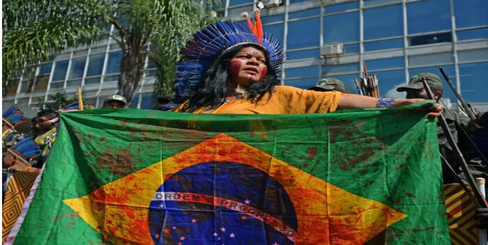 En Brasil miles protestan contra el racismo y la violencia policial
