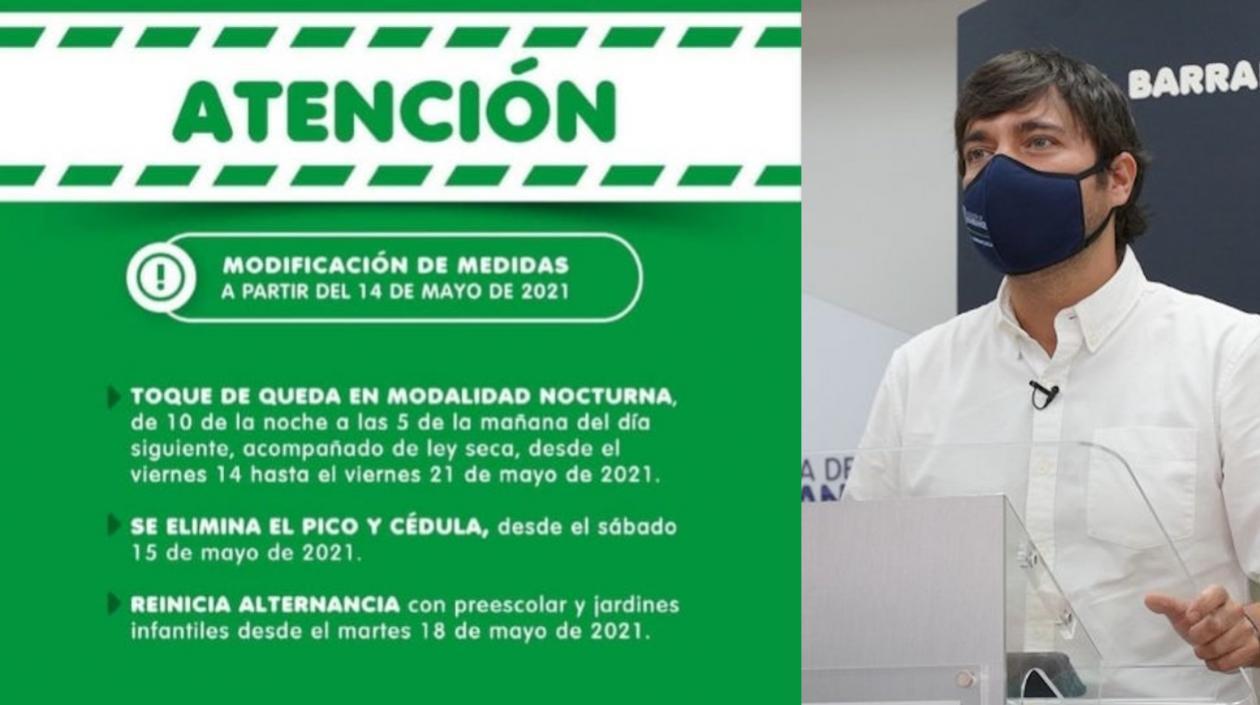 Hoy comienza a regir en Barranquilla el toque de queda desde las 10:00 p.m – @alcaldiabquilla
