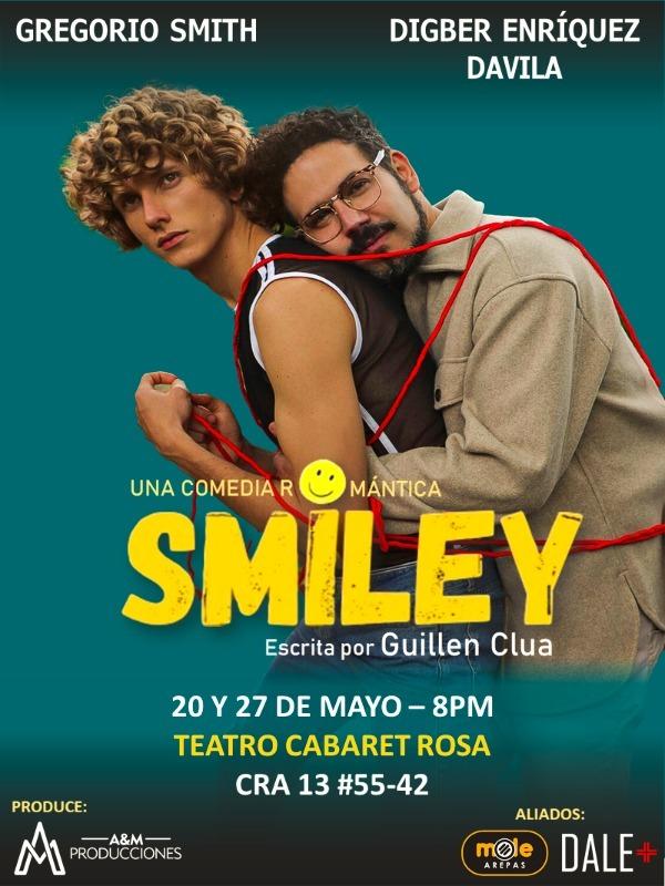 Smiley llegá a Bogotá para conquistar los corazones de su audiencia