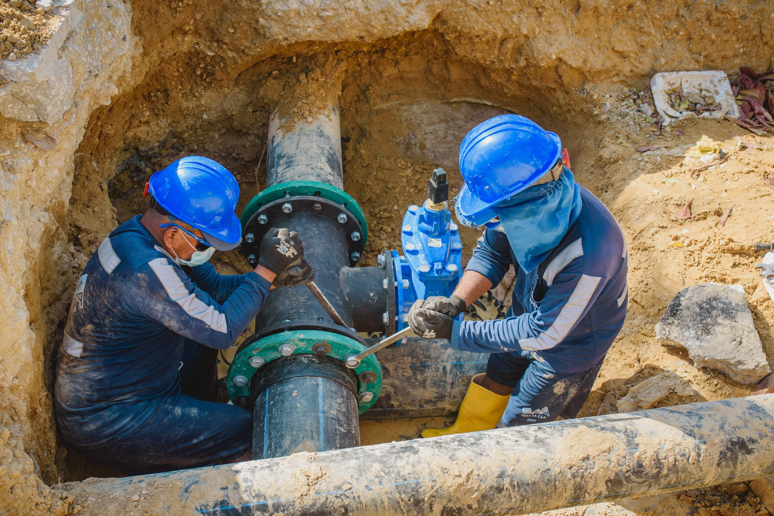En sectores de Barranquilla se suspenderá el servicio de agua por mantenimiento de redes e infraestructura del servicio de acueducto, anuncia Triple A – @SomosTripleA